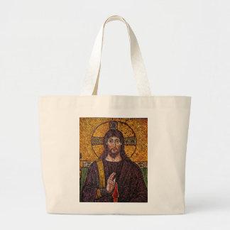 Jesus Mosaic Tote Bag