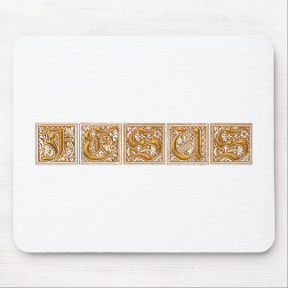 JESUS MOUSE PAD