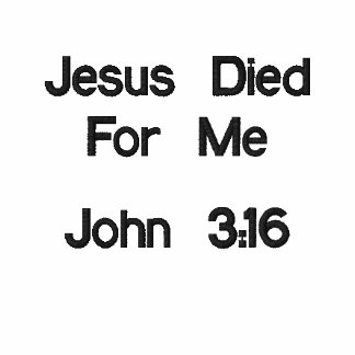 Jesús murió por mí polo