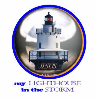 Jesus my Lighthouse Sculpture Standing Photo Sculpture