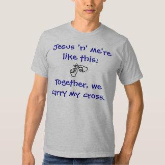 Jesus 'n' me - T-shirt/Hoodies - Blue Dresses
