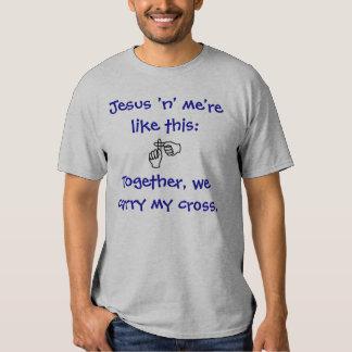 Jesus 'n' me - T-shirt/Hoodies - Dark Blue Dresses