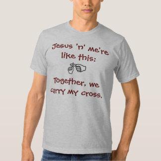 Jesus 'n' me - T-shirt/Hoodies - Dark Red Dresses