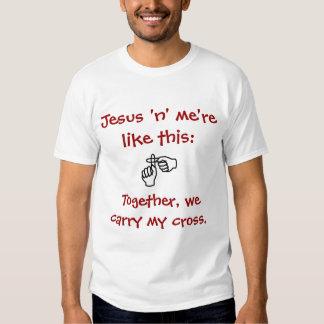 Jesus 'n' me - T-shirt/Hoodies - Red Dresses