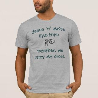 Jesus 'n' me - T-shirt/Hoodies - Teal T-Shirt