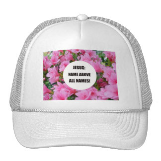 Jesus: Name above all names! Mesh Hats