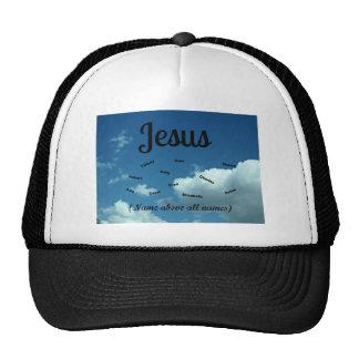 Jesus, name above all names! mesh hat