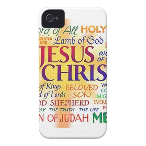 JESUS NAME ABOVE ALL NAMES iPhone 4 CASES