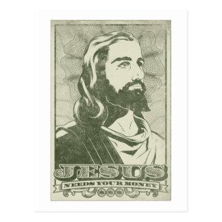 Jesús necesita su dinero postal