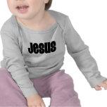Jesús negro camiseta