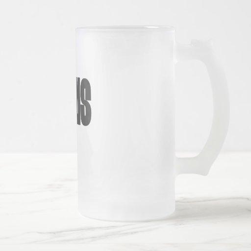 Jesús negro taza
