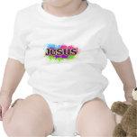 Jesus Neon Static T-shirts