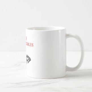 jesus never fumbles classic white coffee mug