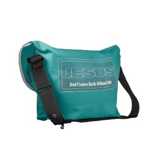 JESÚS no deja la tierra sin él Bolsa De Mensajeria