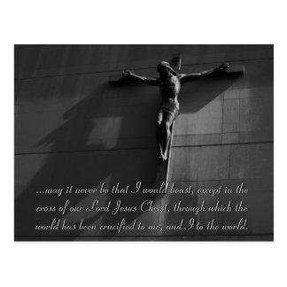 Jesús - Noir (blkONwh) Postal