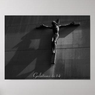 Jesus - Noir (gry) Poster
