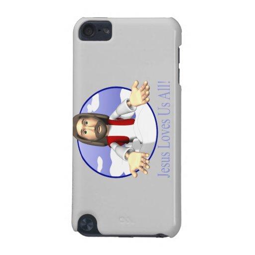 Jesús nos ama todos funda para iPod touch 5G