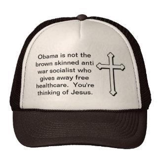 Jesus, not Obama Trucker Hat