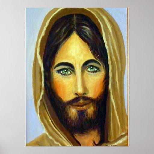 Jesús nuestro poster del salvador póster