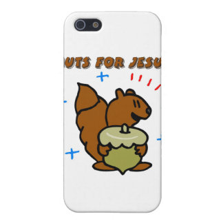 Jesus nut squirrel Christian saying iPhone 5 Covers