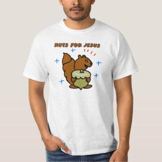 Jesus nut squirrel Christian saying T-Shirt