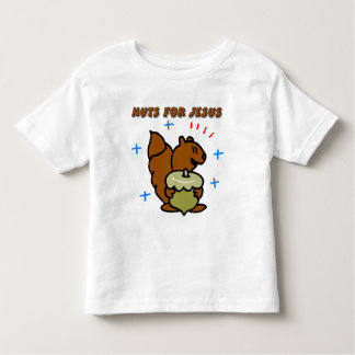 Jesus nut squirrel Christian saying Shirt