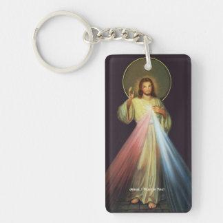 Jesus of Mercy I am a Catholic Key Chain