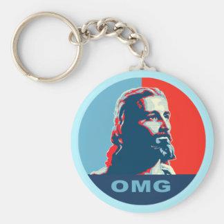 Jesus OMG keychain