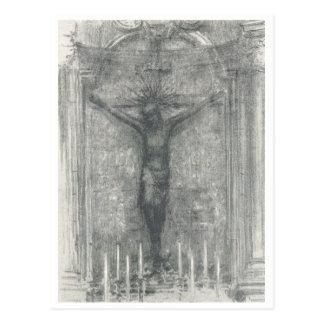 Jesus on Cross - Postcard