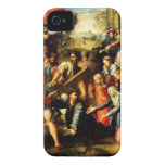 Jesus on his way to Calvary iPhone 4 Case-Mate Case