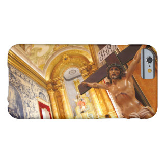 Jesus on the cross barely there iPhone 6 case