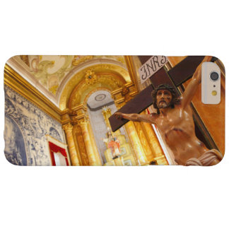 Jesus on the cross barely there iPhone 6 plus case