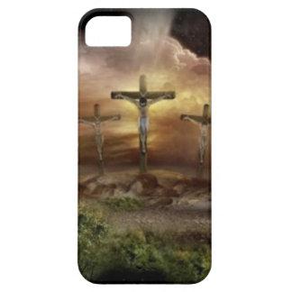 JESUS ON THE CROSS iPhone 5 CASES