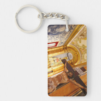Jesus on the cross keychain