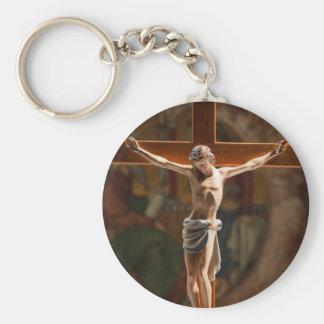 Jesus on the Cross Key Chains