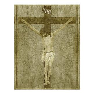 Jesus on the Cross Letterhead