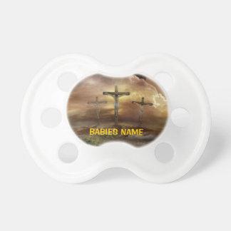 JESUS ON THE CROSS PACIFIER