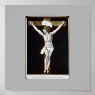 Jesus on the Cross Print