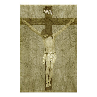 Jesus on the Cross Stationery