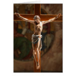 Jesus on the Cross Stationery Note Card
