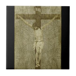 Jesus on the Cross Tile