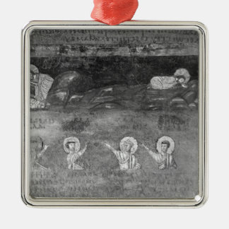 Jesus on the Mount of Olives Metal Ornament