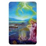 JESUS ON THE SEASHORE ,St John 21 Magnet
