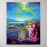 JESUS ON THE SEASHORE ,St John 21 Poster