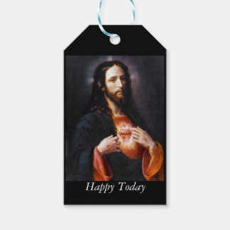 Jesus Opens His Heart to Us Gift Tags