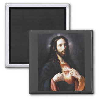 Jesus Opens His Heart to Us Magnet