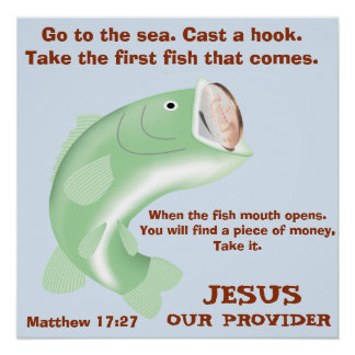 Jesus, Our Provider Poster
