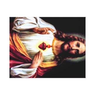 Jesus, Our Savior Stretched Canvas Prints