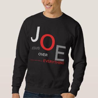 JESUS OVER EVERYTHING SWEATSHIRT