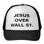 JESUS OVER WALL ST. TRUCKER HAT